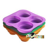High Quality Cone Tiers Stairs Style Silicone Cake Biscuit Jelly Candy Mould Mold  Pan Tray Baking Accessories Mother's Day Gift