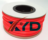 Makerbot/reprap/mendel/UP 3D printer  PLA  Fluorescence Red  3mm 1kg(2.2lb) filaments
