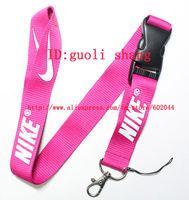 Hot 10pcs  pink Logo Lanyard/ MP3/4 cell phone/ keychains  /Neck Strap Lanyard WHOLESALE Free shipping