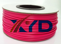 Makerbot/reprap/mendel/UP 3D printer  PLA  Pink  3mm 1kg(2.2lb) filaments