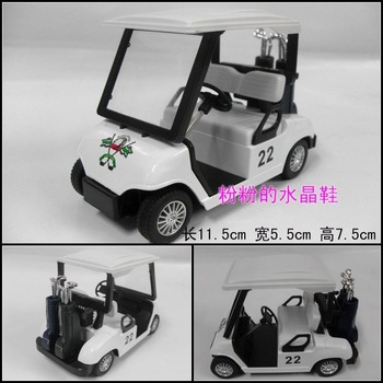 Golf ball car alloy car model toy alloy car models toy