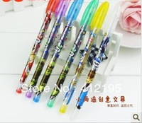 Girl power 6 color flash pen fluorescent pen creative children prize 10 g pen stationery