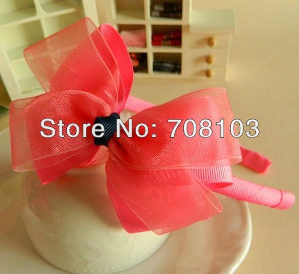 wholesale Free Shipping Min.order is $10(mix order) Headbands Satin kids Headbands hair band headhoop Beam appliance supplier(China (Mainland))