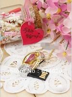 Cute luxurious Slipper Shoe Metal 4GB  8GB 16GB USB 2.0 Flash Memory Stick Drive U Disk