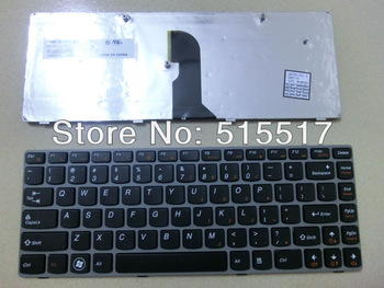 Free shipping black NEW US for LENOVO Z460 Z46A Z465 Z465A Laptop install keyboard