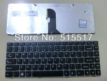 Free shipping black NEW US for LENOVO Z460 Z46A Z465 Z465A Laptop install keyboard