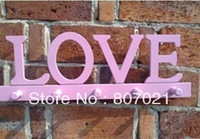The lacquer that bake new love hook creative wooden hanger coatrack door hook decoration clothes rack