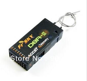 ASSAN 2.4G Mini Super Light (3.1g) 4-Channel Receiver W/Short Antenna X8R4H