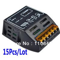15Pcs/Lot 10A 12V 24V Intelligence Solar Cells Panel Battery Charge Controller Regulators 2813