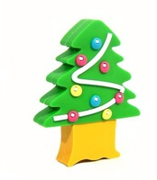 Christmas Tree USB Flash Drive Memory Disk 1GB 2GB 4GB 8GB 16GB Free DHL EMS Shipping