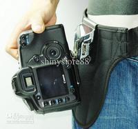 Professional SLR DSLR Quick Shoot DEBO Camera Single Belt Holster Buckle Mount For DSLR SLR CAMERA