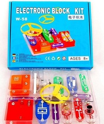 Most popular Educational electronic block kits toys for children/students(China (Mainland))