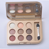 NO02 colour 9 colour eye shadow palette,eye shadow makeup,free shipping