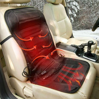 Free Shipping 12V Universal Heated Winter Household Car seat heated car seat cushion