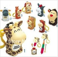 Free shipping/ Novelty animal big animal style retractable ballpoint pen, cartoon ball pen, shool supply