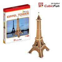 Free shipping 3d stereomodel 3d puzzle educational toys mini - s3006 100% new The best New Year gift