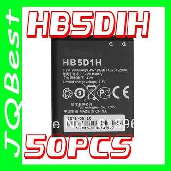 50pcs High quality HB5D1H Battery For Huawei cell Phone M635 PINNACLE M615 PILLAR