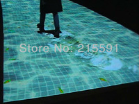 Interactive floor projection with big discount for 2013