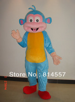 Boots Monkey Mascot Costume Halloween gift costume characters sex dress hot sale