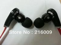 """DHL Free shipping 20pcs Christmas HOT SALES dropship Headphone """" L"""" jack Red, white,Purple,Black earphone"""