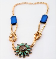 New Arrival Manufacture Price Europe US Trendy  Necklace Pendant Vintage Jewelry ZB1011