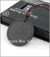 50% sales Christmas gift DHL/FEDEX  Free shipping 100pcs/ lot scalar energy quantum pendant lava materials with Quantum Science