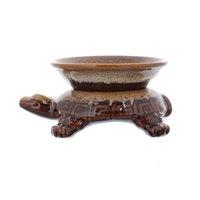 Coloured glaze base ceramic tea colander exquisite filter tea strainers kung fu tea interval