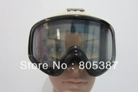sg007 2012 Unisex ski glasses Double Lens Anti Strach lens AntiFog UV400 Protection CE Certification with anti-skidding strap