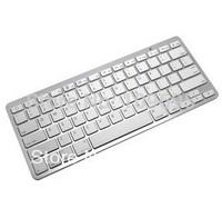 Free shipping Bluetooth Wireless Keyboard for PC Macbook Mac ipad 1 2 new iPad mini iPad, Bluetooth headset
