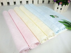 Free shipping high-grade environmental bamboo fiber ecological home textile big towel Washcloth promotion wholesale 34* 74 cm(China (Mainland))