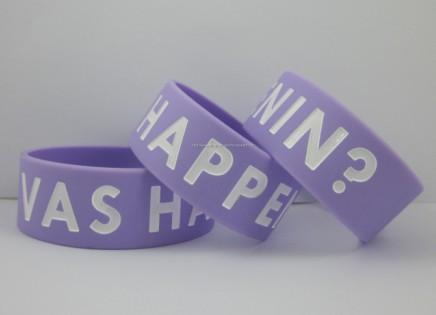 "Vas Happenin ? One Direction 1"" 1D Wide Wristband Zayn Mailik Funny Fan Bracelet,promotion gift,silicon bracelet,50pcs/lot,frsh(China (Mainland))"
