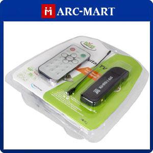 DVB-T USB TV FM+DAB Radio Tuner Receiver Stick Realtek RTL2832U+R820T 10pcs/lot #ST219