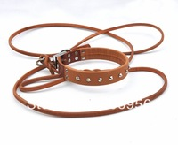 pet collar,dog collar,with necklace  dog chain.