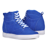 9256_1(Blue)- New arrival men's fashion handmade elevator boots keep you warm in winter and gain you 2.75 inches height