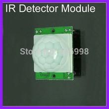 5pcs lot HC SR501 IR Detector Module PIR Sensor Security Infrared Pyroelectric Sensor Detector Module Free