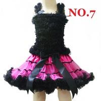free shipping,Factory Directly,Pettiskirts tutu Set(TOP+skirt),Girls PettiSkirt+Tops