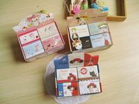 Free shipping 4 pcs/lot  Mini nevelty Pura girl Miss rabbit tea bag pig match box n times stickers memo pads