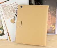 High quality book style flip leather case for ipad mini luxury stand leather case for ipad mini+Free Shipping 5 pcs/lot