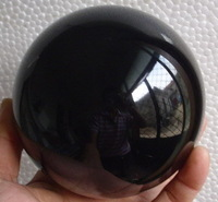 Collectibles Obsidian Crystal Sphere Healing 60 mm