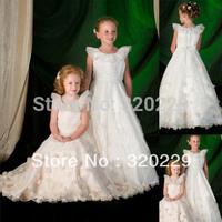 Flower girl dresses for weddings Girl party dress Flower Girls dresses  LJ026 Vestido de dama de honra de crianca