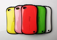 New arrival Style iFace one Protective Back Case cover for iPhone4/4S with Retail box 100pcs/lot