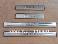 free shipping ! Door sill scuff plate Guards Sills For VW POLO Worthersee 2011