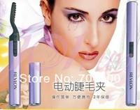 Eyebrow Brush Eyelash Curler Pen type electric Foldable heated eyelash curler