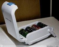 3 car small refrigerator mini refrigerator hot and cold box-car fresh box 3 capacity cw-3 l