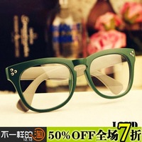 A9 non-mainstream ultralarge myopia frame glasses frame vintage eye frame plain mirror