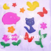 Free shipping mini cartoon window sticker