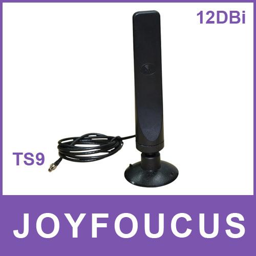 DHL /EMS Free sample 12dbi 3G antenna TS-9 for ZTE MF633BP+ MF30 MF60 MF61 MF62 Sierra Wireles ...
