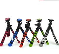 Free shipping New Arrival wholesale (5pcs/lot) Multicolor Flexible Portable Mini Tripod for Digital Camera