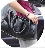 2014  French fashionable leisure men's bags multi-function PU leather shoulder bag oblique satchel bag 3 colours