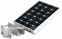 [free shipping]] 12w  all-in-one integrated solar street light with sensor solar garden light   lamp